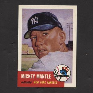 1993 Topps Archives 53 topps rp Mickey Mantle